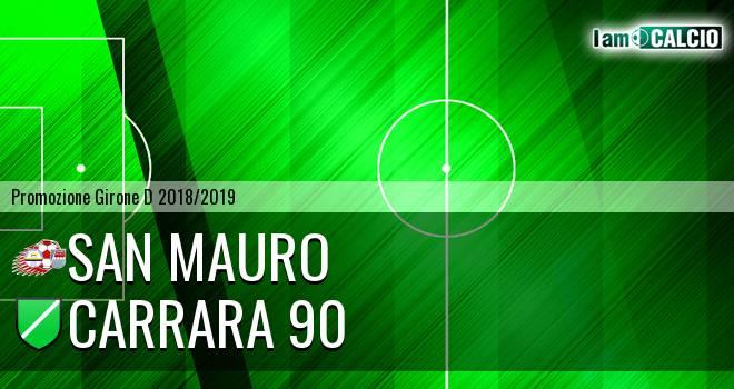 San Mauro - Carrara 90