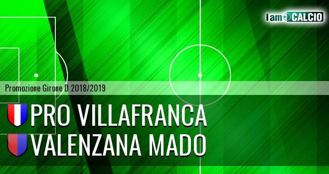 Pro Villafranca - Valenzana Mado