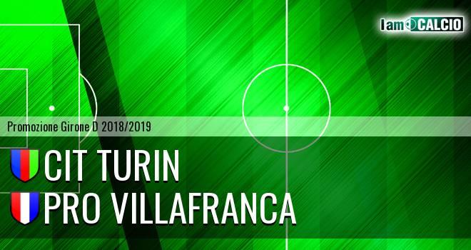 Cit Turin - Pro Villafranca