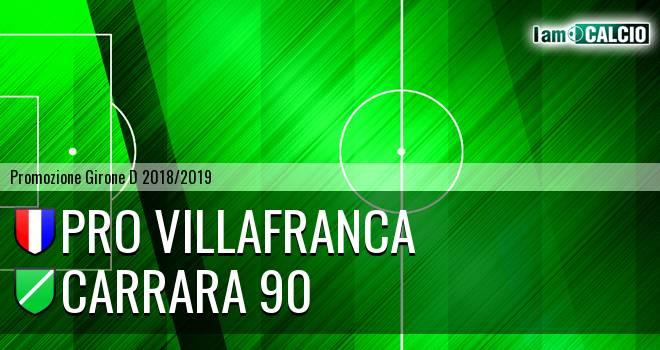 Pro Villafranca - Carrara 90