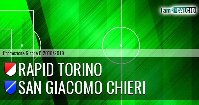 Rapid Torino - San Giacomo Chieri