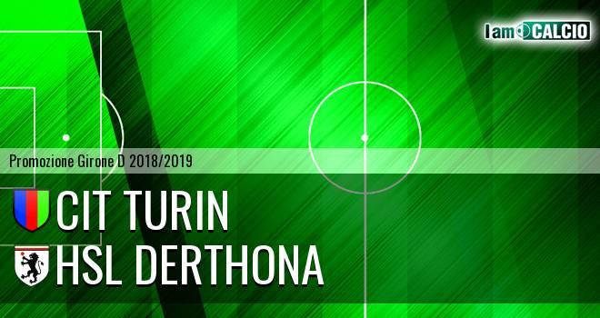 Cit Turin - HSL Derthona