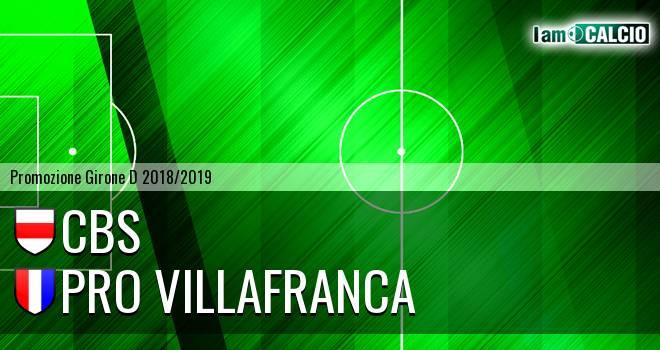 Cbs - Pro Villafranca