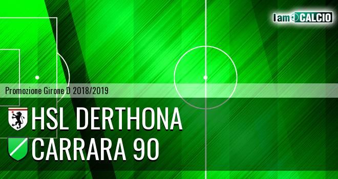 HSL Derthona - Carrara 90