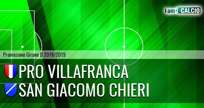 Pro Villafranca - San Giacomo Chieri