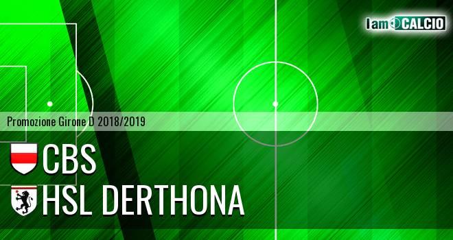 Cbs - HSL Derthona