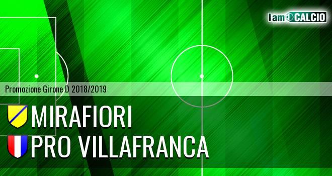 Mirafiori - Pro Villafranca