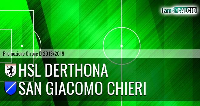 HSL Derthona - San Giacomo Chieri