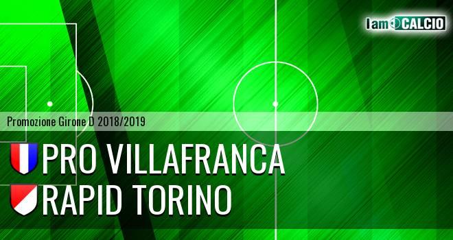 Pro Villafranca - Rapid Torino