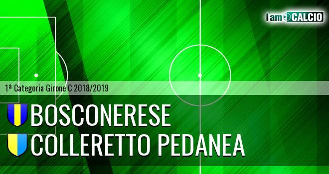 Bosconerese - Colleretto Pedanea