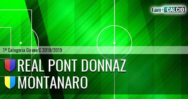 Real Pont Donnaz - Montanaro