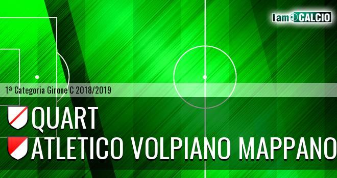 Quart - Atletico Volpiano Mappano