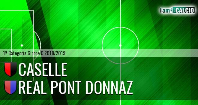 Caselle - Real Pont Donnaz