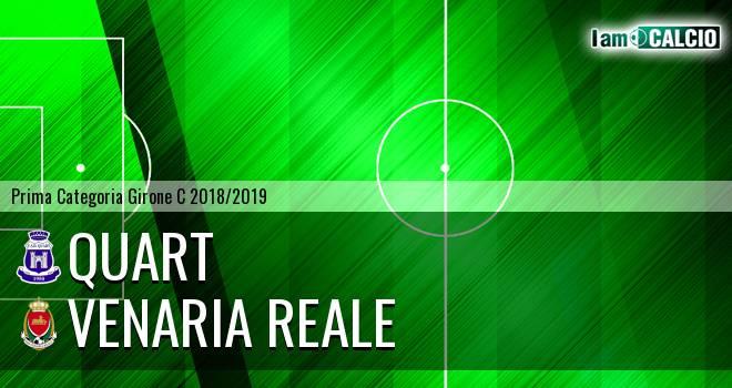 Quart - Venaria Reale 0-1. Cronaca Diretta 27/10/2018