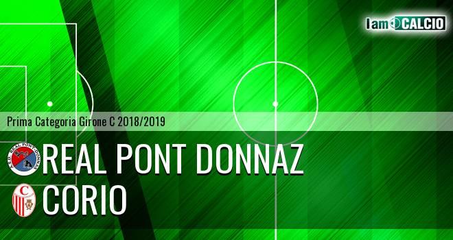 Real Pont Donnaz - Corio