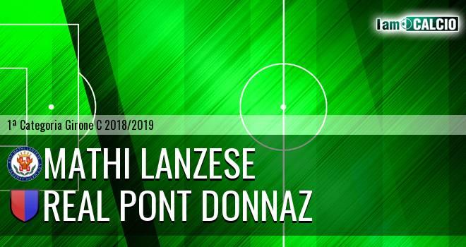 Mathi Lanzese - Real Pont Donnaz