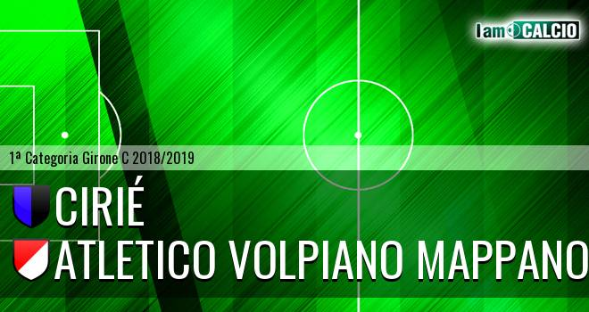 Cirié - Atletico Volpiano Mappano