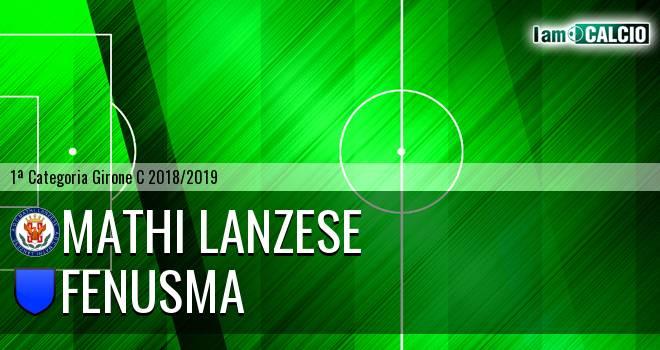Mathi Lanzese - Fenusma