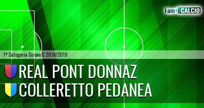 Real Pont Donnaz - Colleretto Pedanea