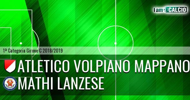 Atletico Volpiano Mappano - Mathi Lanzese
