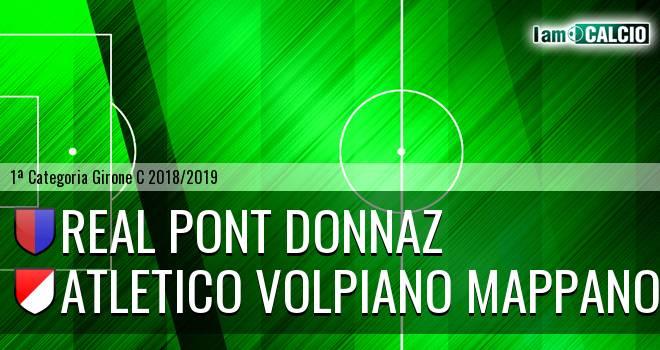Real Pont Donnaz - Atletico Volpiano Mappano