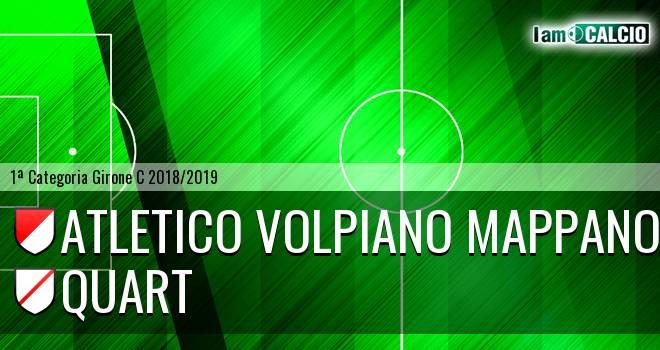 Atletico Volpiano Mappano - Quart