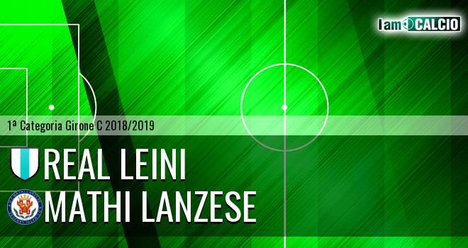 Real Leini - Mathi Lanzese