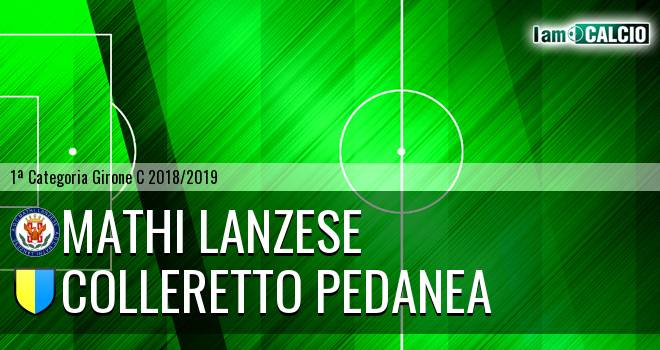 Mathi Lanzese - Colleretto Pedanea