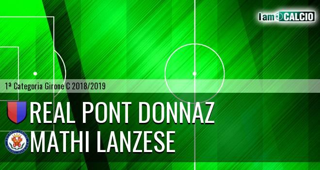 Real Pont Donnaz - Mathi Lanzese