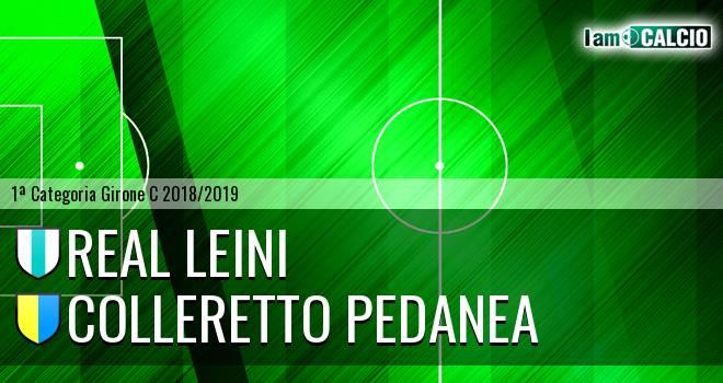 Real Leini - Colleretto Pedanea