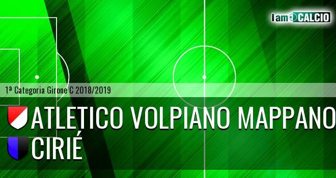 Atletico Volpiano Mappano - Cirié