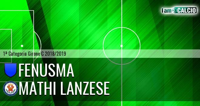 Fenusma - Mathi Lanzese