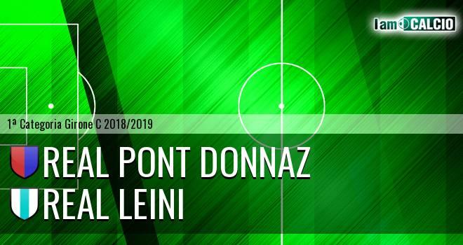 Real Pont Donnaz - Real Leini