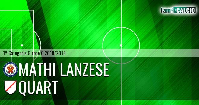 Mathi Lanzese - Quart