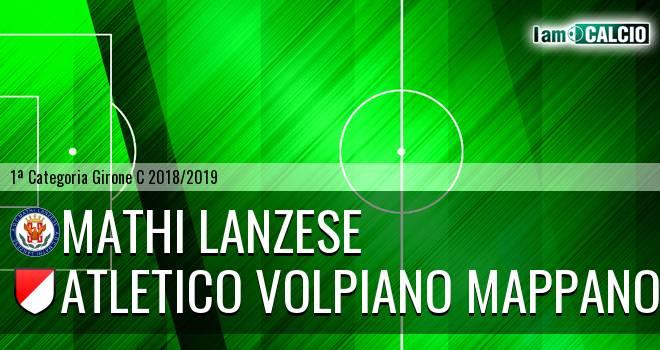 Mathi Lanzese - Atletico Volpiano Mappano