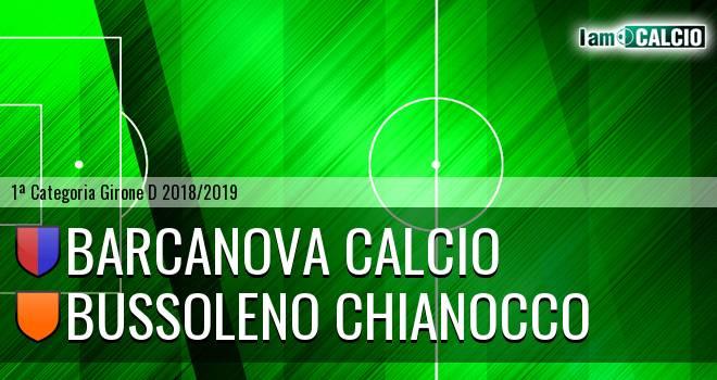 Barcanova Calcio - Bussoleno Chianocco