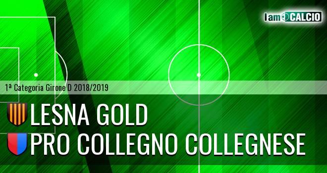 Lesna Gold - Pro Collegno Collegnese