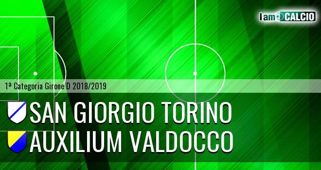 San Giorgio Torino - Auxilium Valdocco