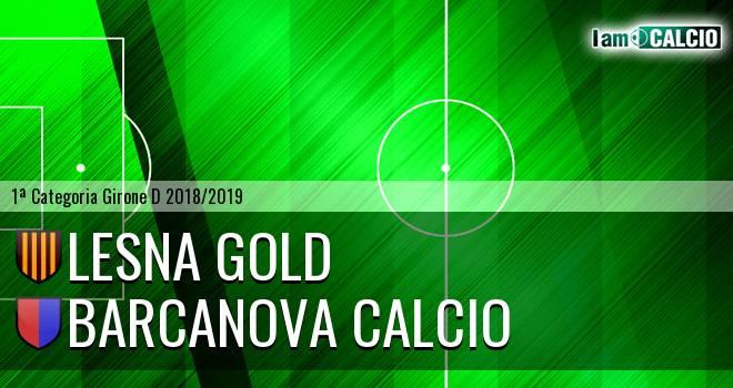 Lesna Gold - Barcanova Calcio