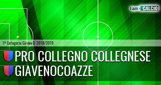 Pro Collegno Collegnese - GiavenoCoazze