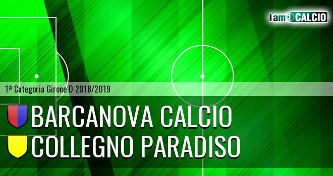 Barcanova Calcio - Collegno Paradiso