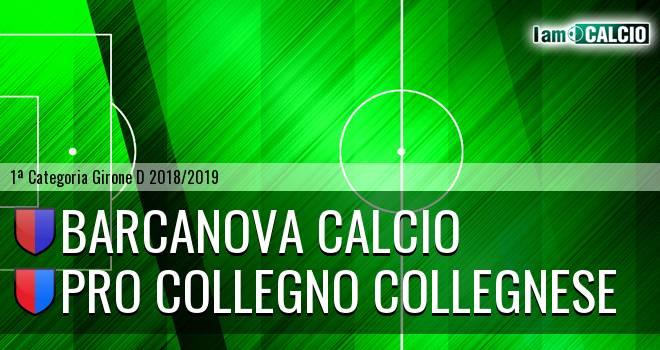 Barcanova Calcio - Pro Collegno Collegnese