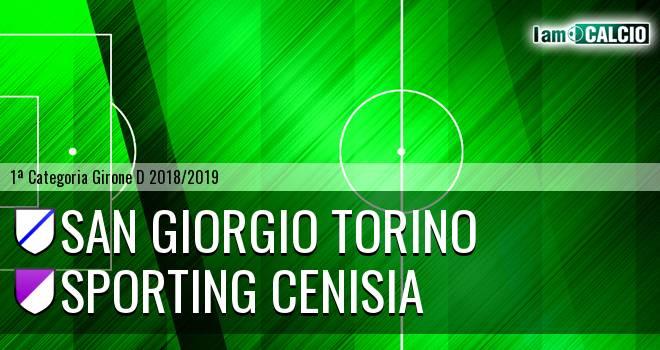 San Giorgio Torino - Sporting Cenisia