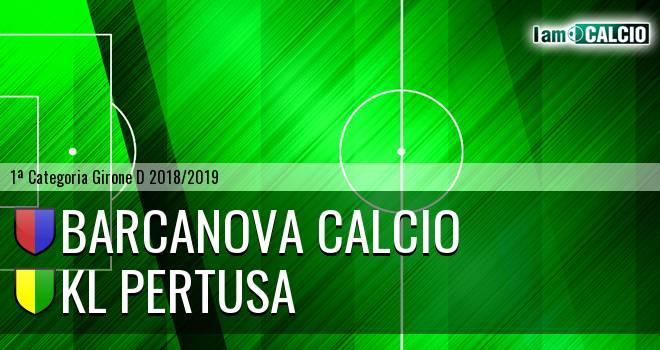 Barcanova Calcio - KL Pertusa