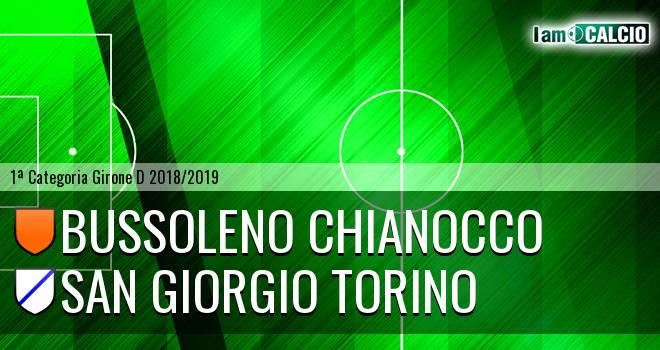 Bussoleno Chianocco - San Giorgio Torino
