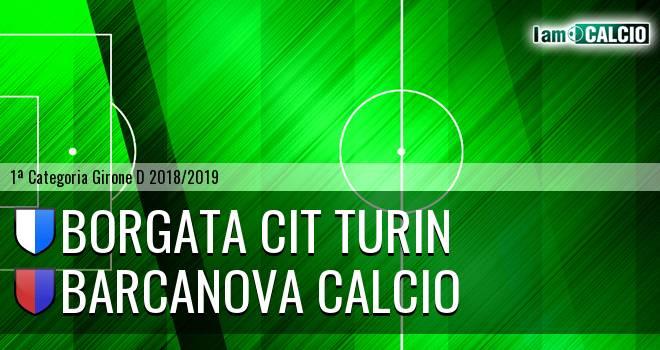 Borgata Cit Turin - Barcanova Calcio
