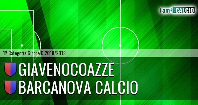 GiavenoCoazze - Barcanova Calcio