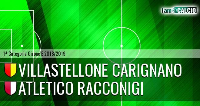Villastellone Carignano - Atletico Racconigi