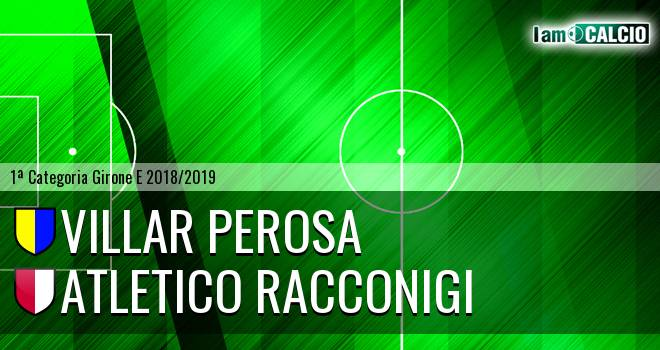 Villar Perosa - Atletico Racconigi