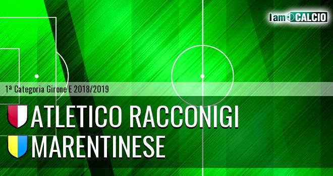 Atletico Racconigi - Marentinese